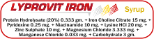 Lyprovit Iron Syrup