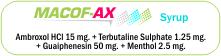 Macof-AX Syrup