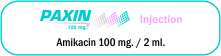 Paxin 100 mg Injection