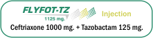 Flyfot-TZ 1125 mg. Injection