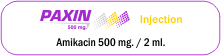 Paxin 500 mg Injection