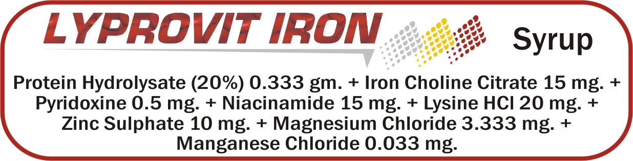 Lyprovit Iron Syrup