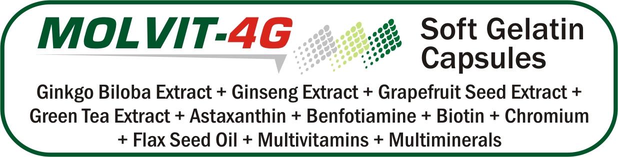 Molvit-4G Soft Gelatin Capsules