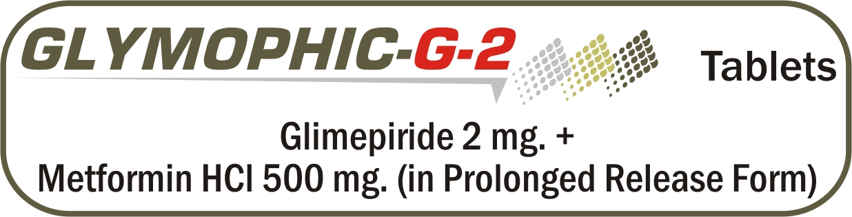 Glymophic-G-2 Bilayer Tablets