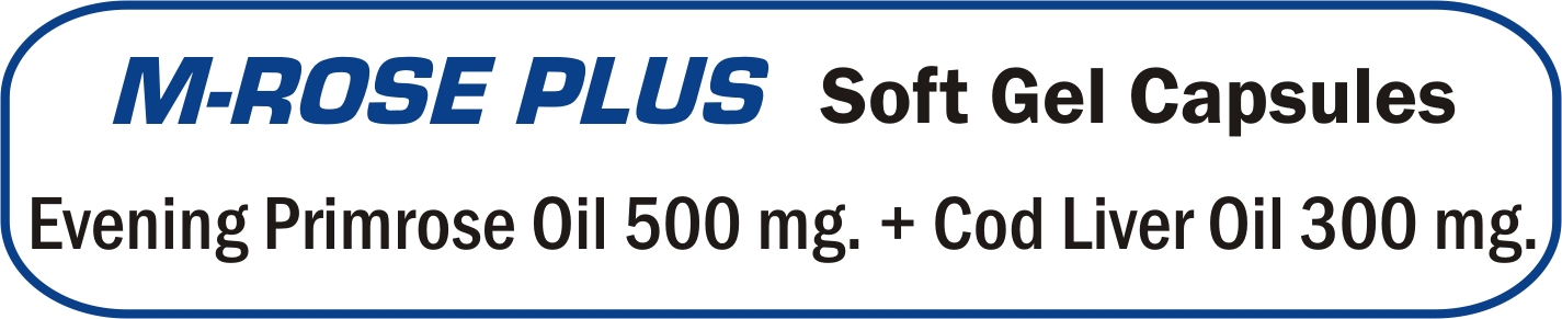 M-Rose Plus Soft Gelatin Capsules